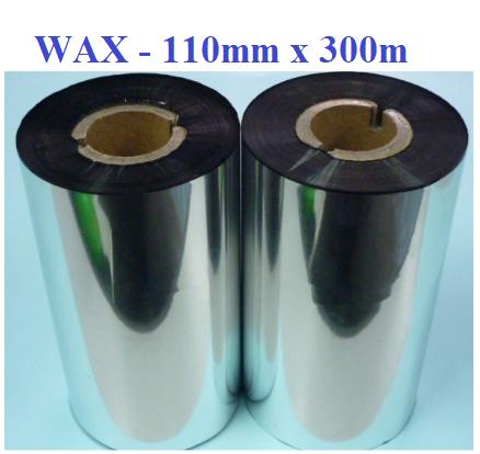 Mực in mã vạch Wax Robbin 110mmx300m