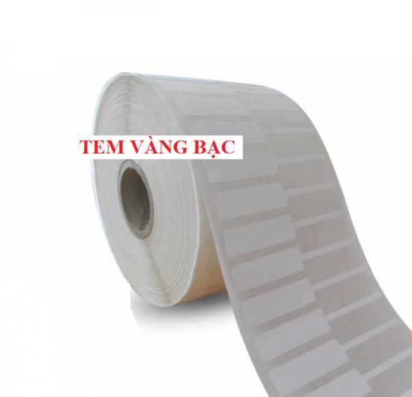 Decal PVC Tem Vàng Bạc