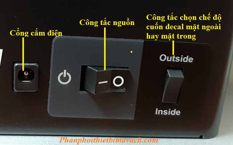 Công tắc outside inside Godex T10
