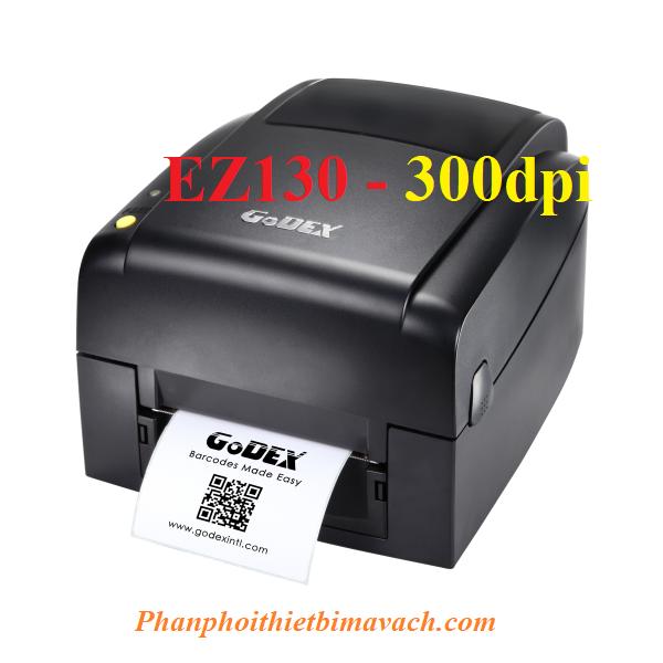Máy in mã vạch Godex EZ130 -300dpi